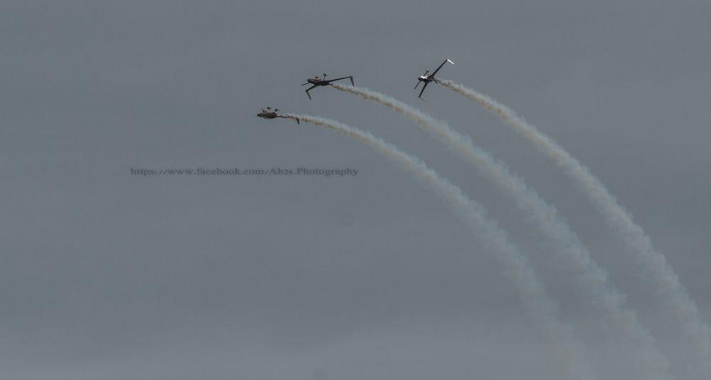 Photo in Random #nikon #d5000 #air show #bournemouth #uk #travel #sky #plane