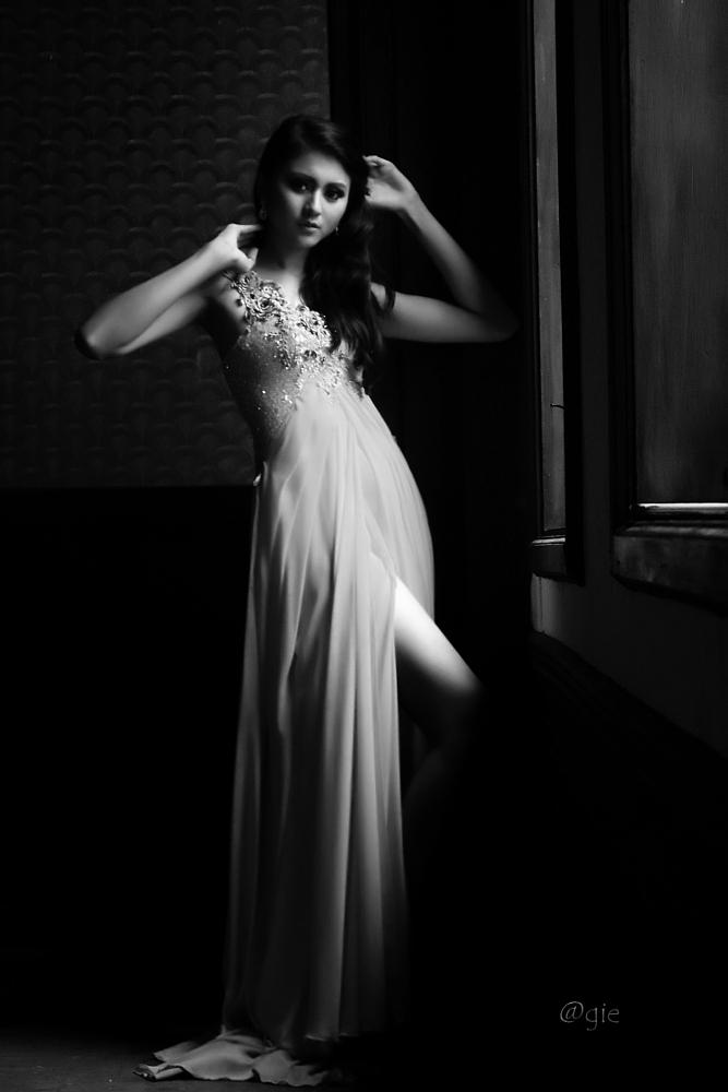 Photo in Black and White #black & white #portrait