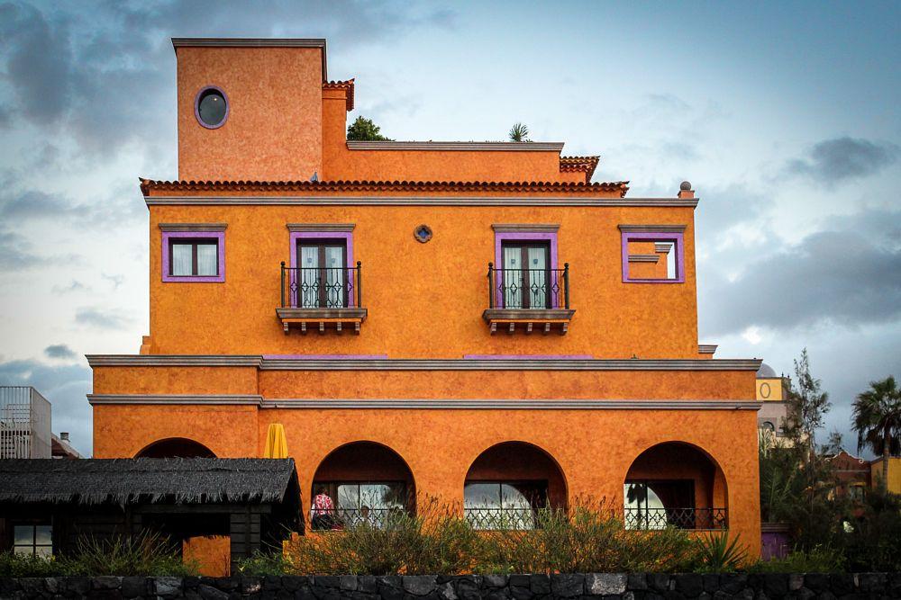 Photo in Cityscape #colorful house #teneriffa #canarias