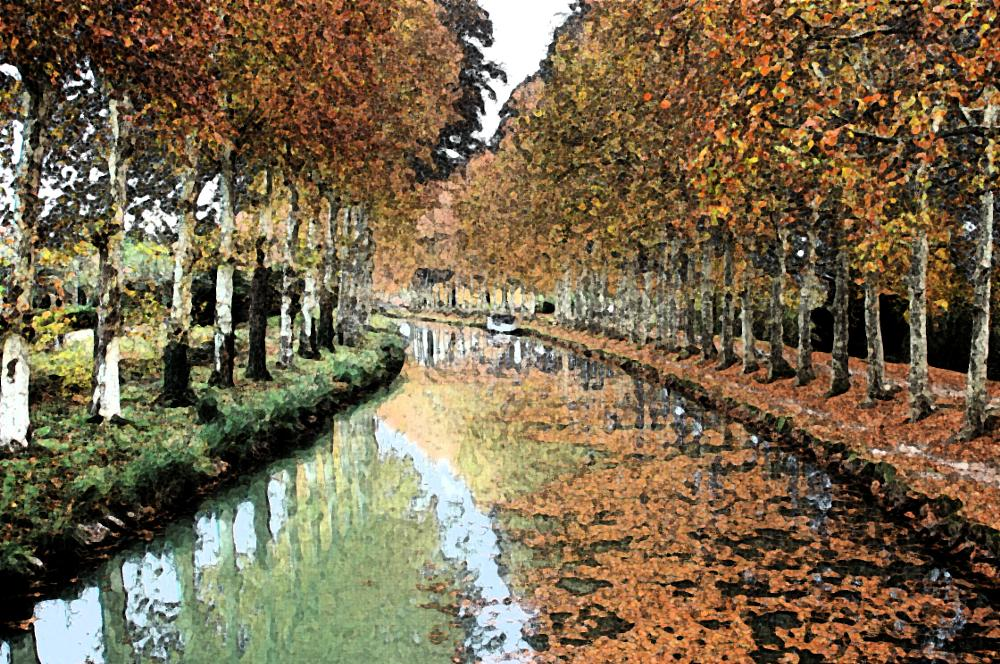 Photo in Landscape #canal #water #belgium