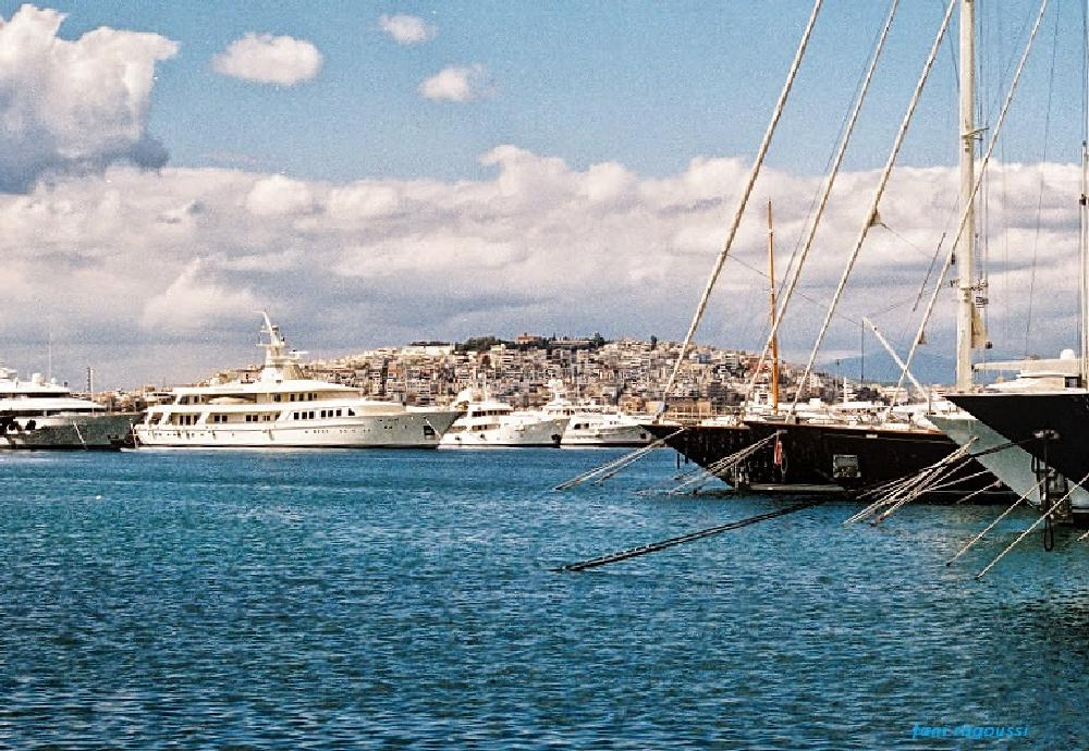 Photo in Random #marine #port #sails #greece