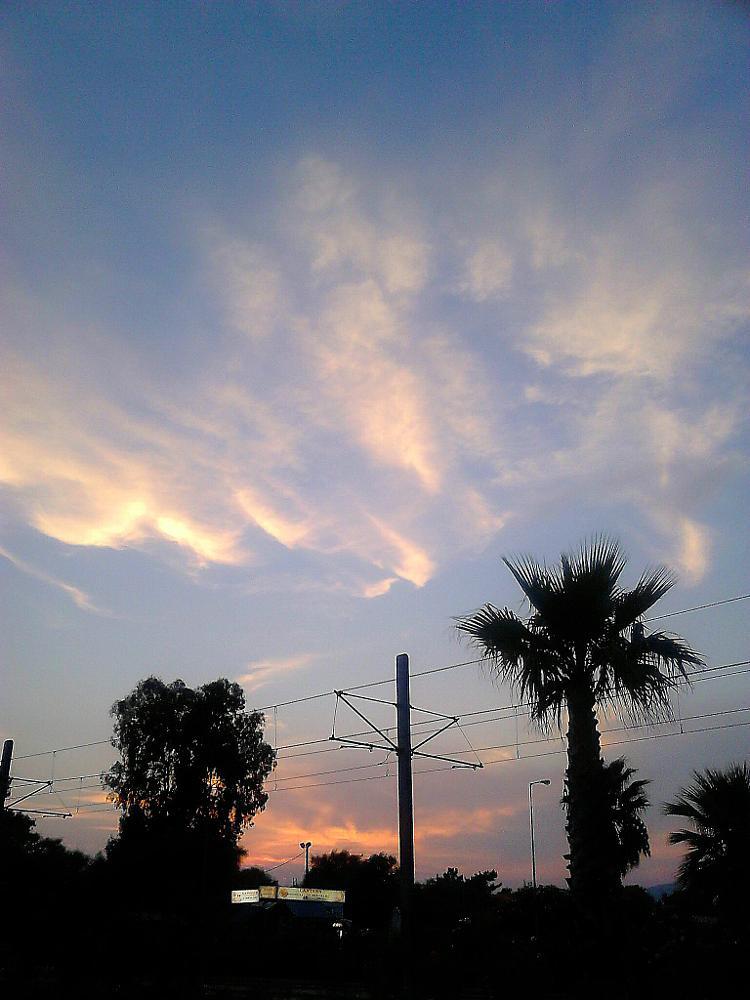 Photo in Random #faliro #attica #greece #sunset