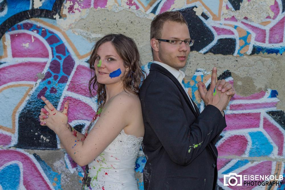 Photo in Wedding #wedding #trash the dress #bavaria #germany #hochzeit