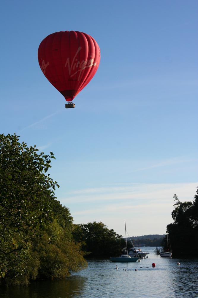 Photo in Landscape #lake district #baloon #fun