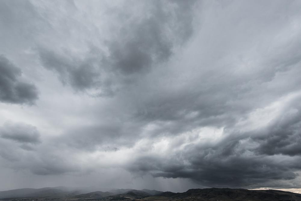 Photo in Landscape #storm #rain #clouds