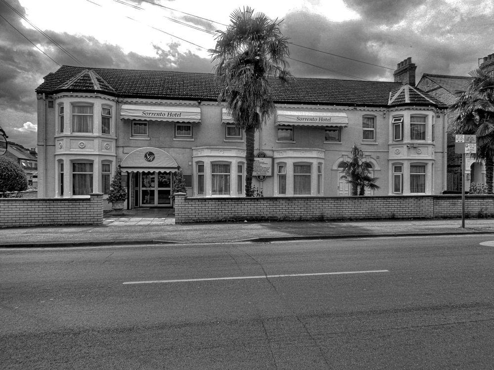 Photo in Architecture #cambridge #trees #city #black and white #viewbug #simonsphotosfacebook #fineartamerica #england