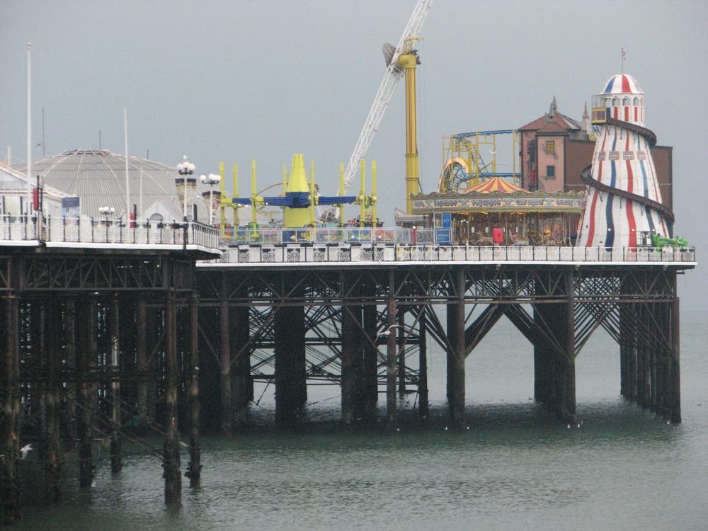 Photo in Sea and Sand #pier #brighton #fair