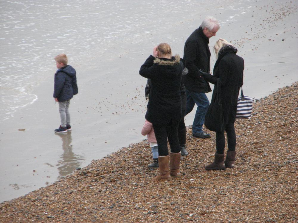 Photo in Sea and Sand #seafront #brighton #family