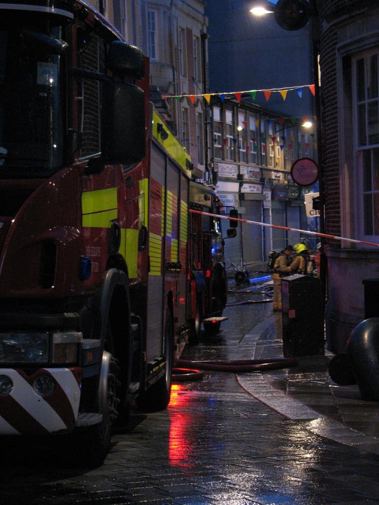 Photo in Street Photography #fire #fireman #fire engine