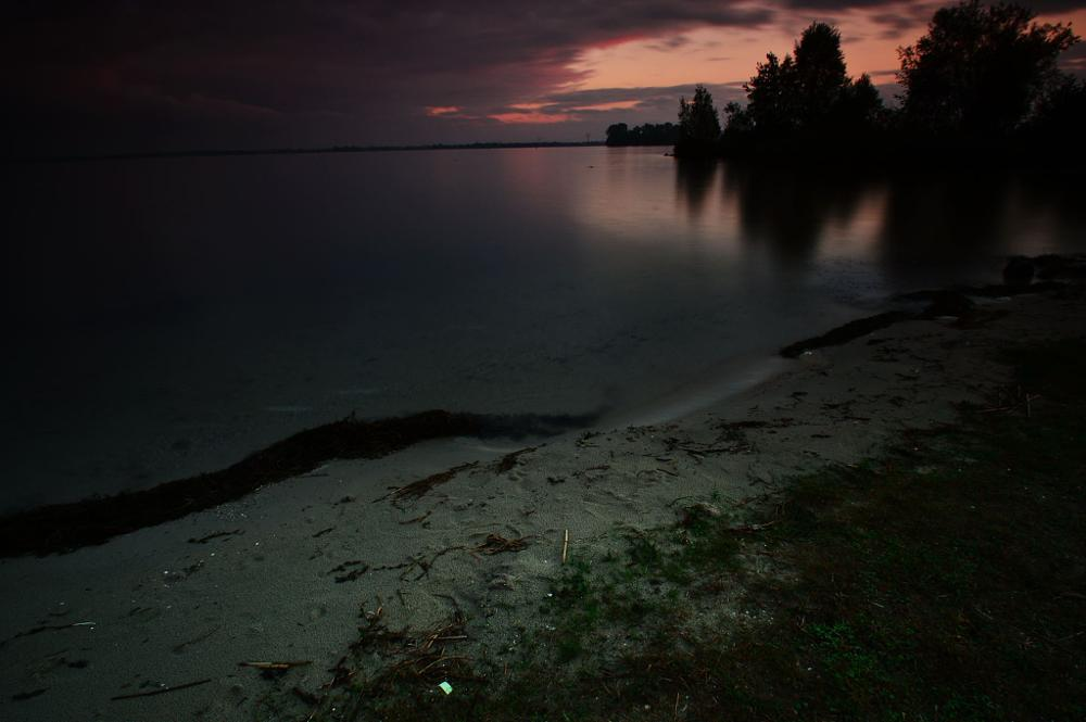 Photo in Landscape #sunset #skie #colors #water