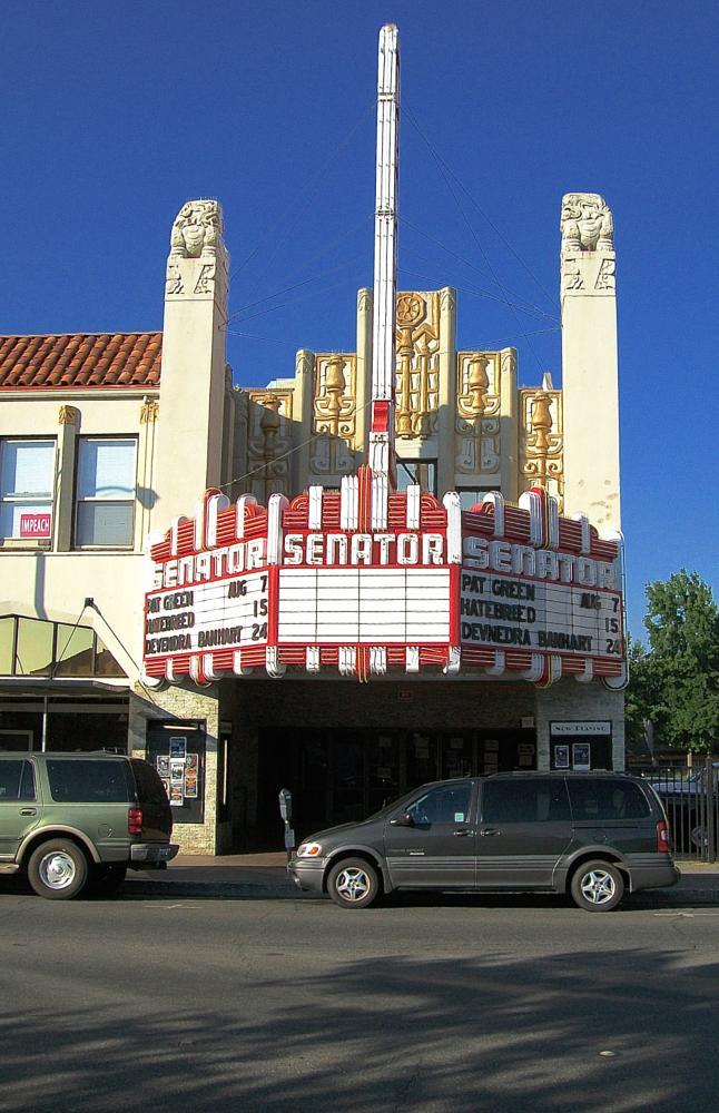Photo in Architecture #senator theater #chico california #sunny day