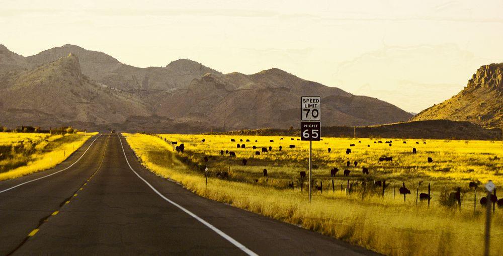 Photo in Landscape #texas #road #alpine #usa