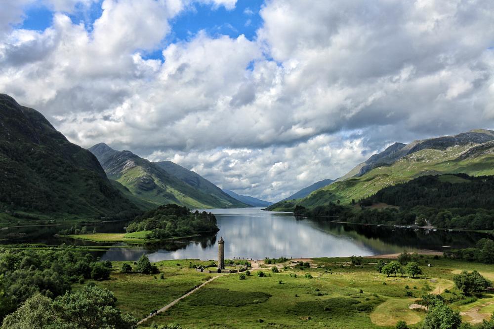 Photo in Landscape #scotland #summer #lake