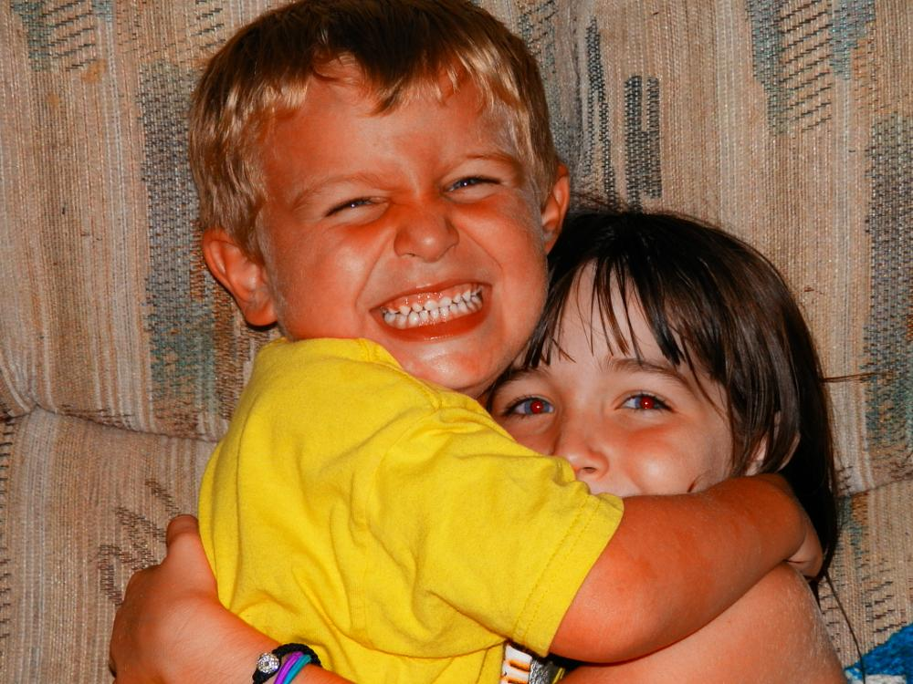 Photo in Family #brother #sister #hugs