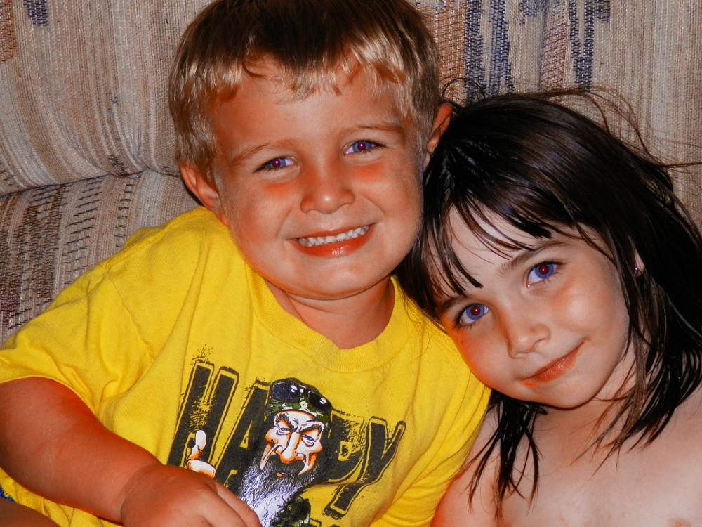 Photo in Family #brother #sister #sharing