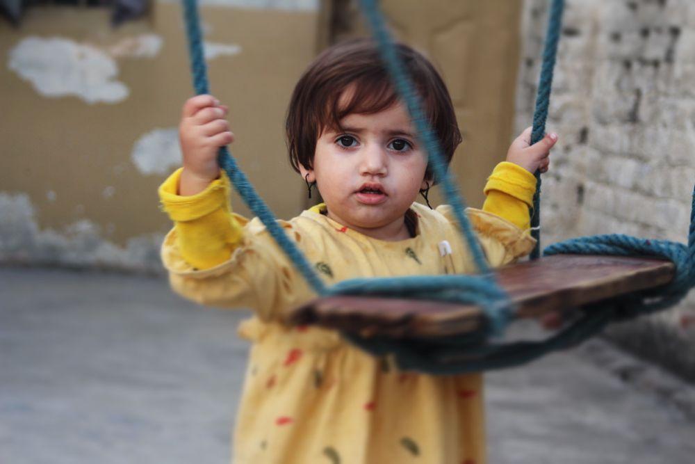 Photo in Random #kid #child #pakistan #baby #yellow