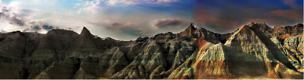 Photo in Landscape #badlands #sd #rock #sunset #landscape