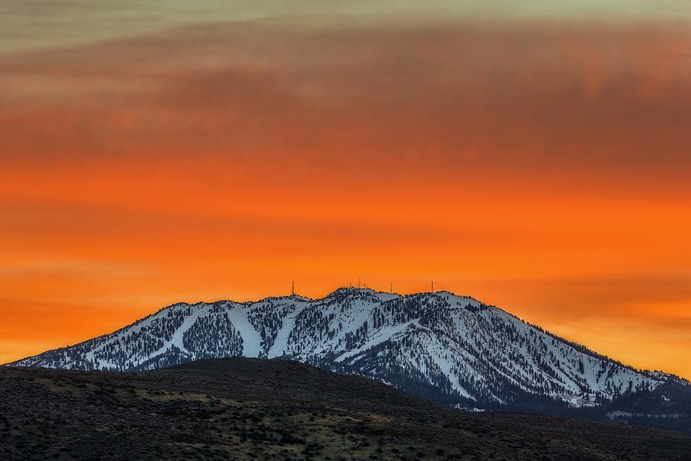 Photo in Landscape #sunset #mountains #landscape