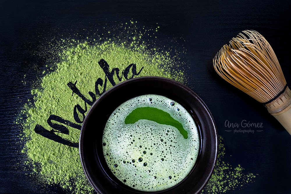 Photo in Food #matcha #matcha tea #matcha green tea #green #tea #japan #bamboo whisk #powdered #food #foodphotography #food photography #comida #comidas #healthy #antioxidant #dark #dark mood
