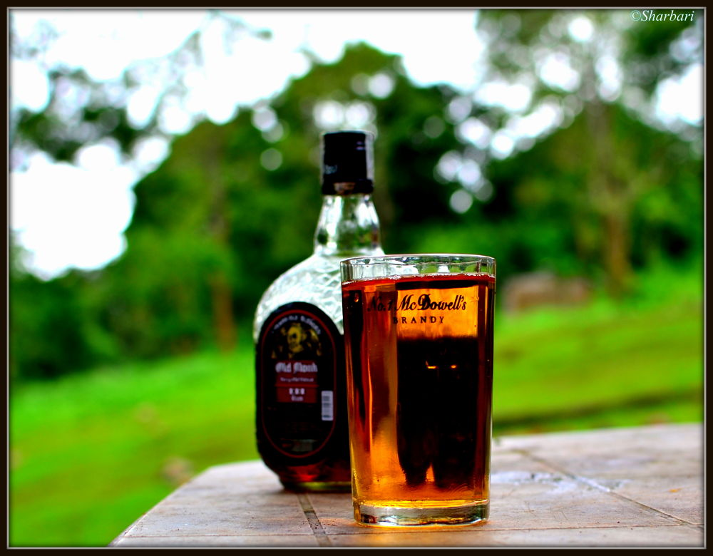 Photo in Random #old monk #alcohol #glass