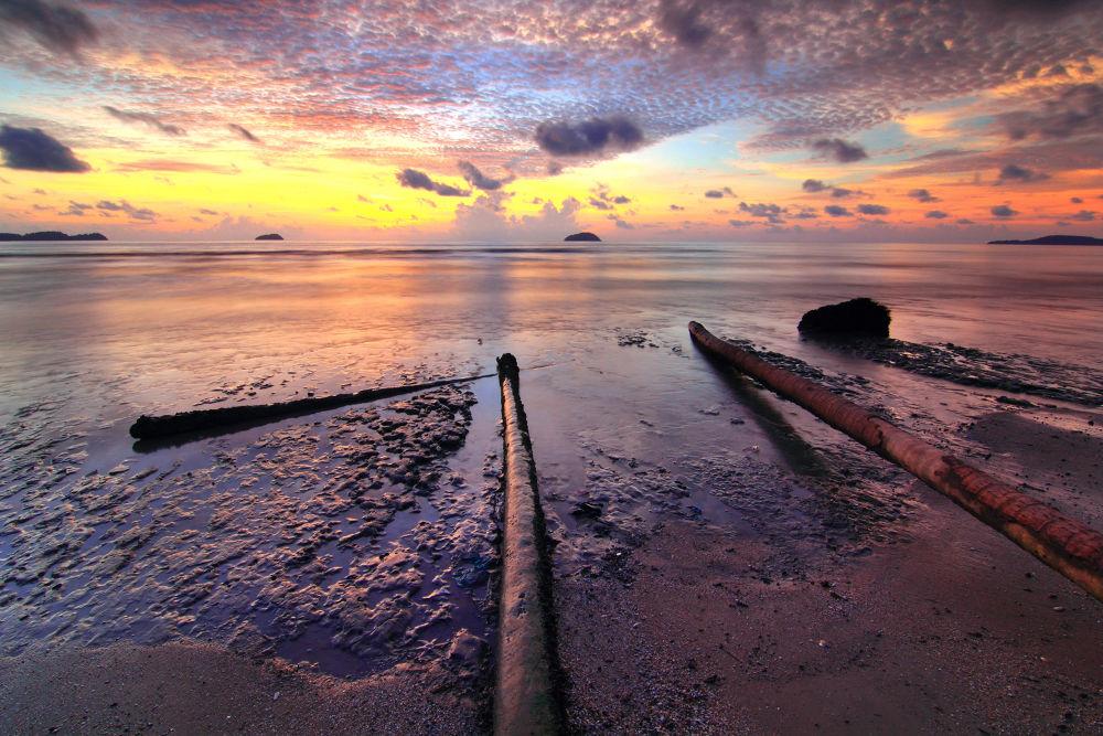 Photo in Random #landscape #seascape #sunset #emonkeybusiness #ypa2013