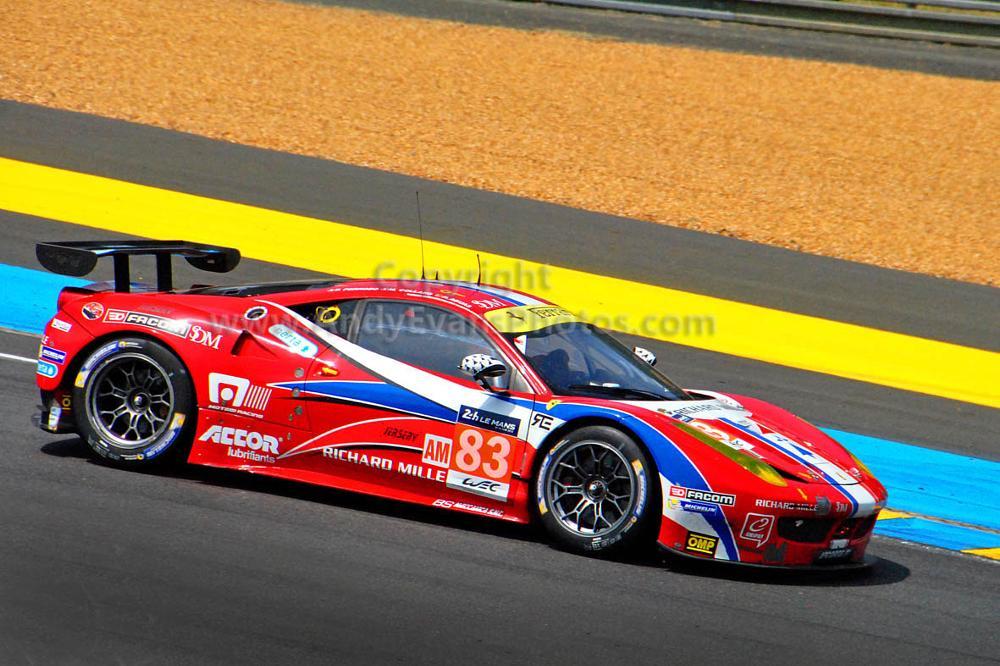 Photo in Sports #ferrari #le mans 24hours #france #motorsport #italia #motor racing #car #sports car