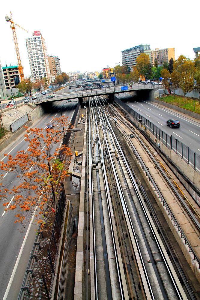 Photo in Cityscape #santiago #chile #cityscape #metro
