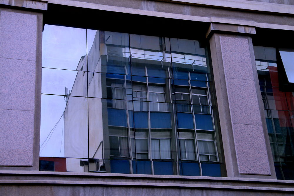Photo in Random #santiago #chile #cityscape #reflections