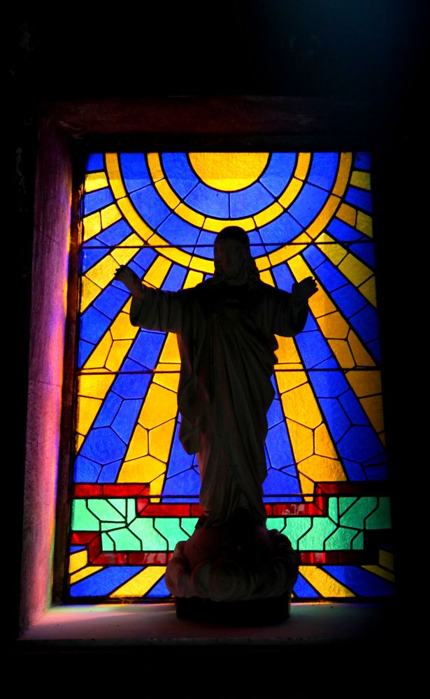 Photo in Random #santiago #chile #general cementery #stained glass
