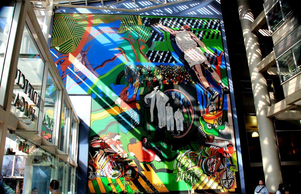Photo in Cityscape #santiago #chile #cityscape #street photography #street art