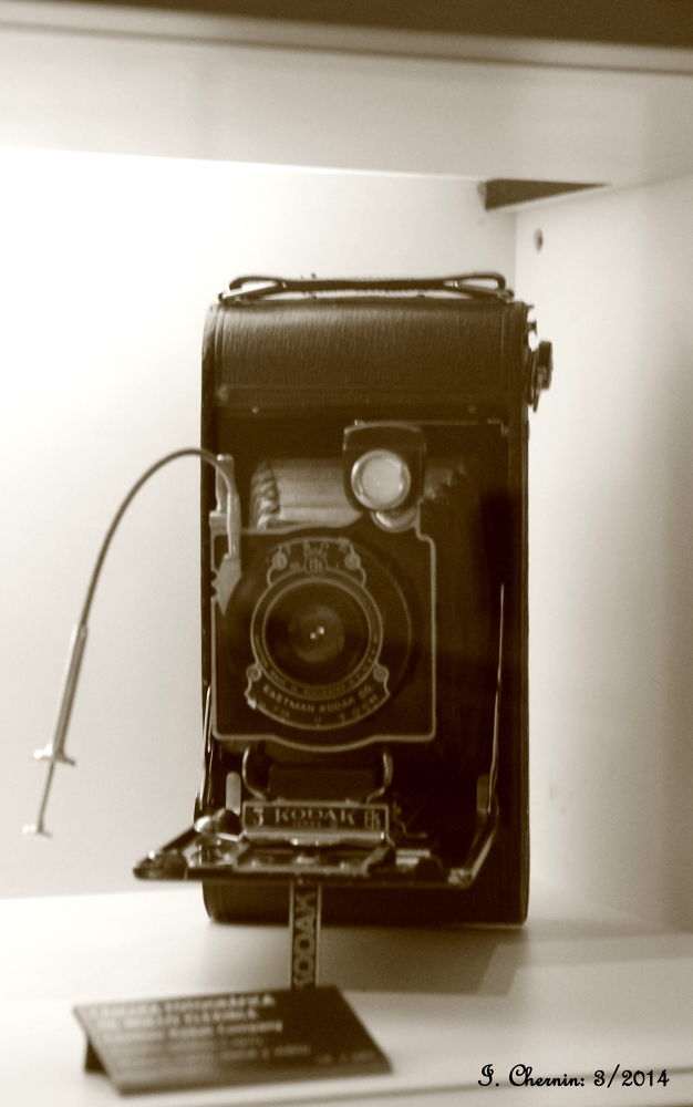 Photo in Vintage #santiago chile #vintage #old camera #sepia #black and white