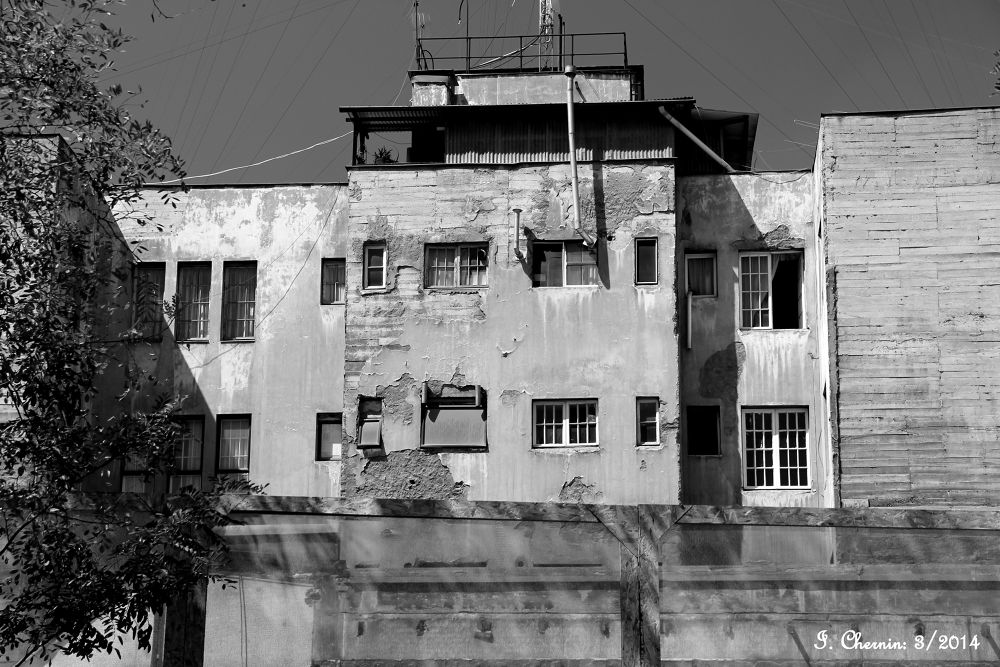 Photo in Black and White #santiago chile #street photography #black and white #decayed