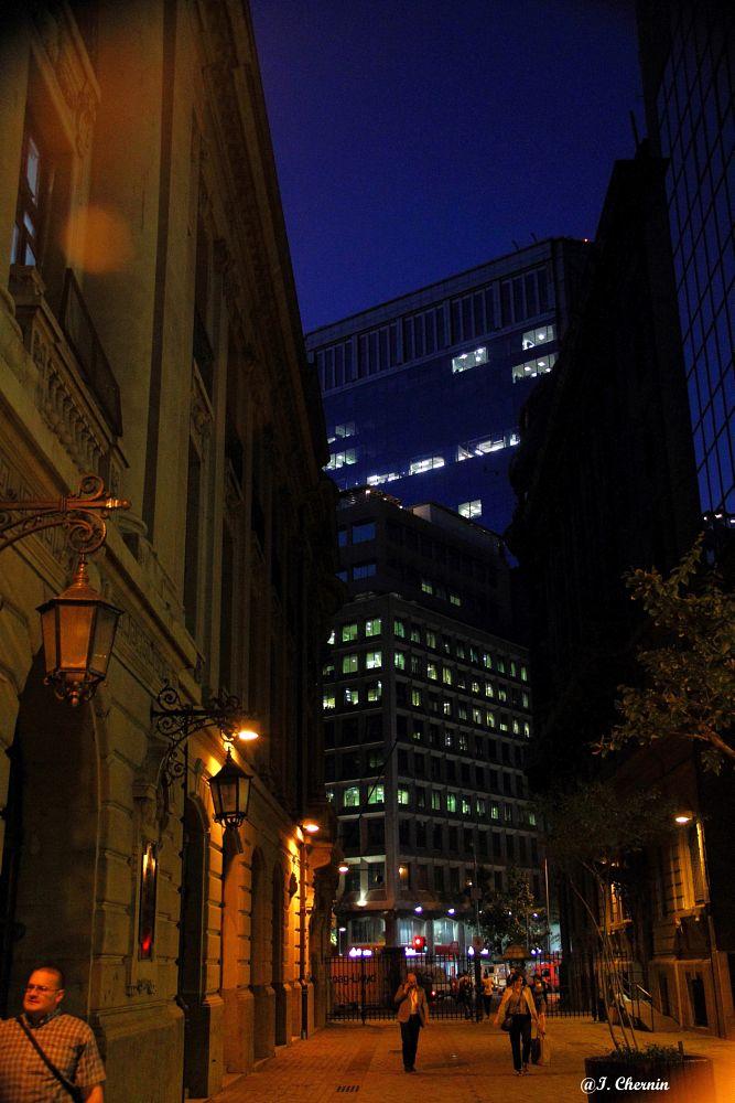 Photo in Random #santiago #chile #night #urban #street photography