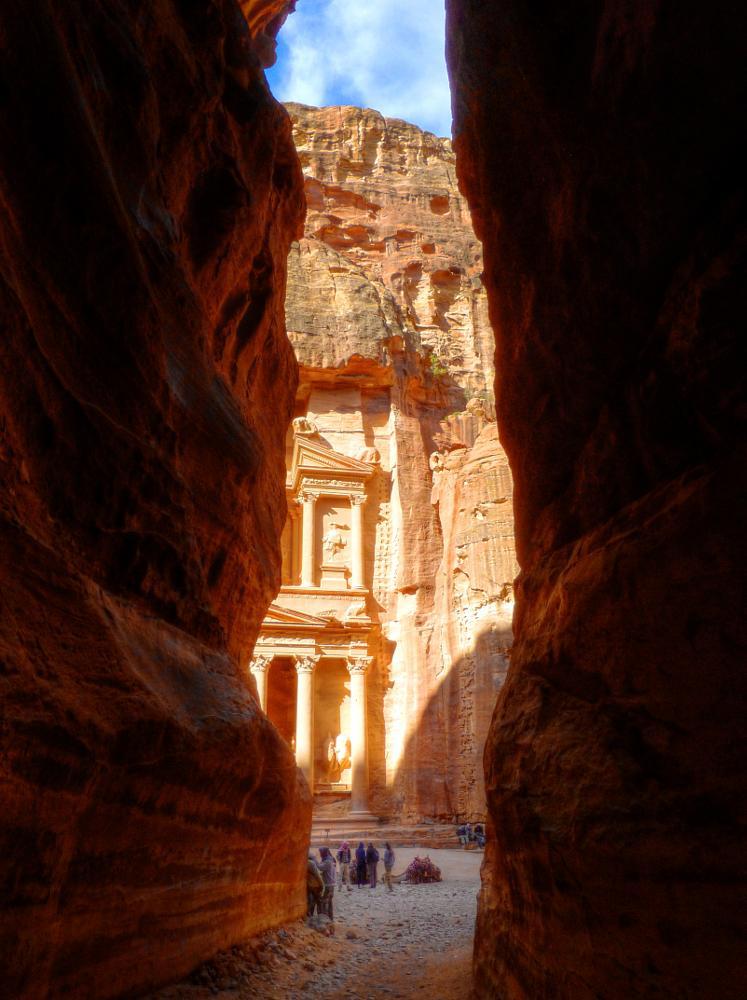 Photo in Travel #hdr #petra #siq #ancient #travel #exotic #treasury