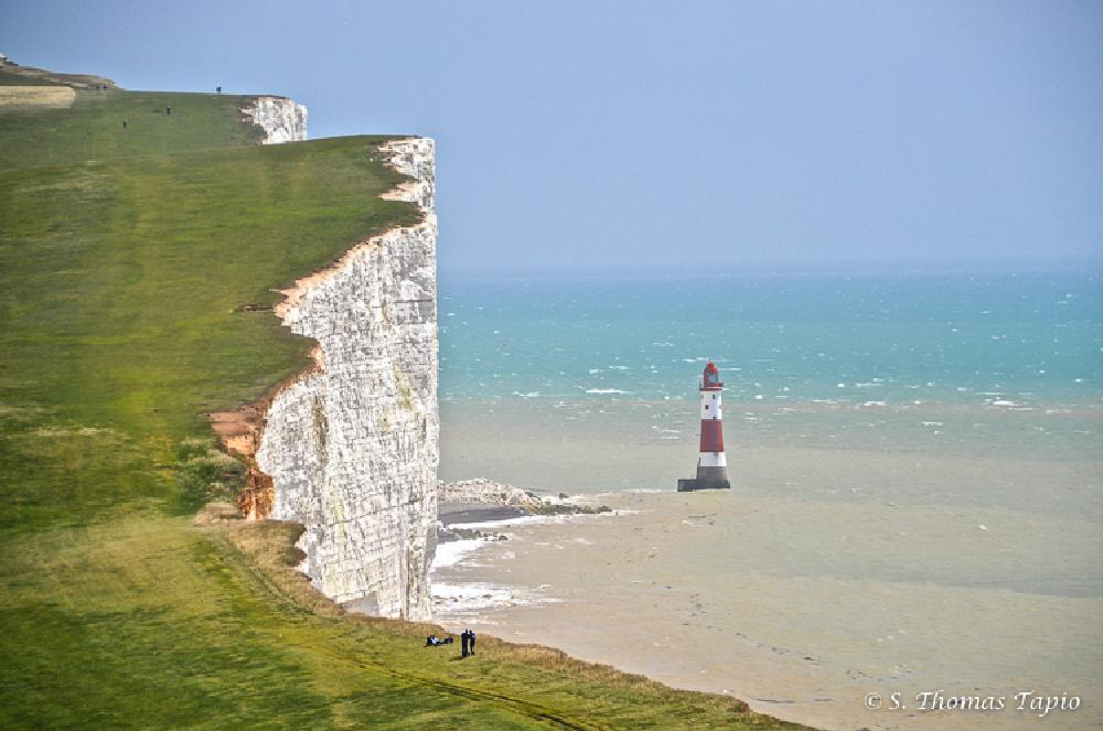 Photo in Landscape #beachy head #eastbourne #england #uk #lighthouse #beaches