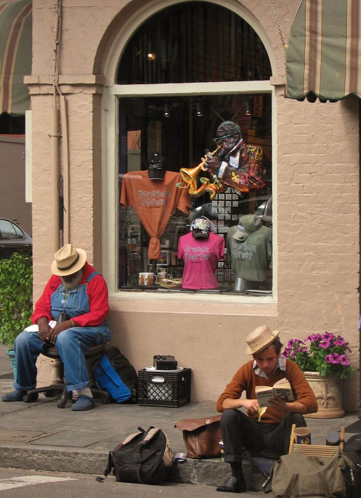 Photo in Random #jazz #new orleans #french quarter #artists