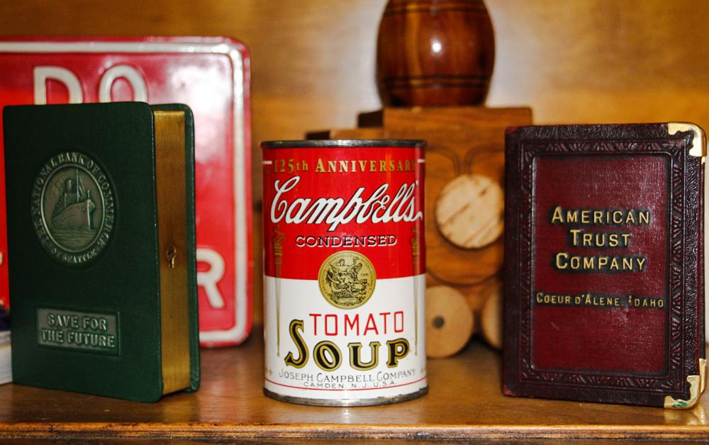 Photo in Vintage #campbell's soup #american trust company #vintage #memorabilia