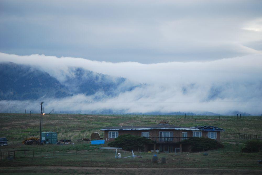 Photo in Landscape #rolling fog