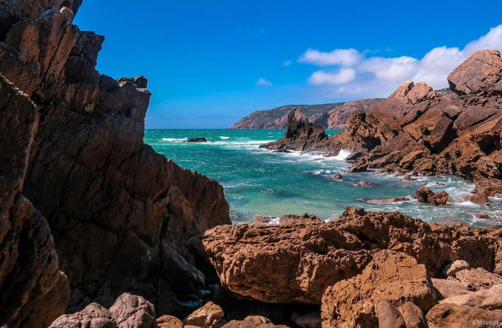 Photo in Nature #seascape #landscape #nature #sea #cliffs #sky