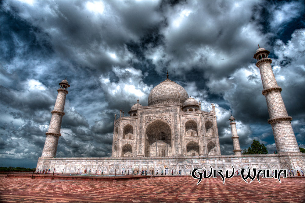 Photo in Architecture #taj mahal #india #taj #agra #architecture #love #monument #wonder #seven wonders #7 wonders #uttar pradesh #photography #hdr #guru #guru walia