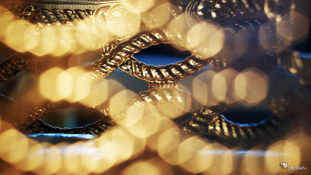 Photo in Abstract #blur #bokeh #gold #light #shadow #places #art