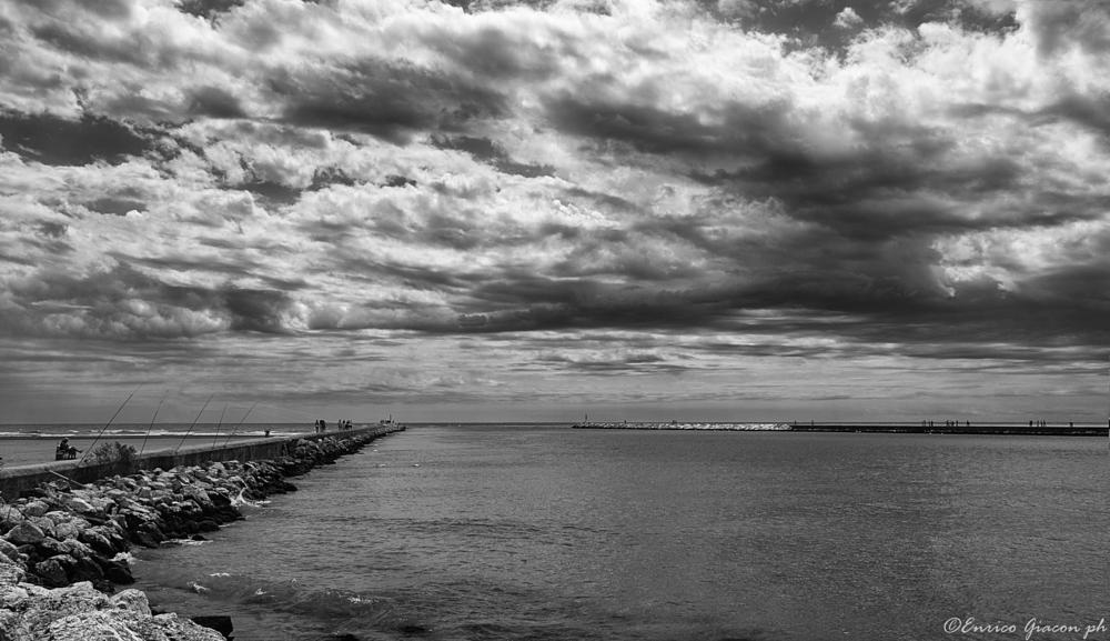 Photo in Black and White #eos 1d #caorle #mare