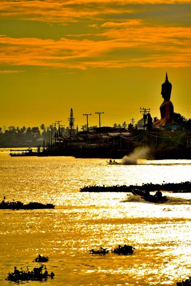 Photo in Random #sunset #thailand