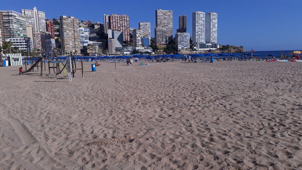 Photo in Random #benidorm #seafront #beach #sand