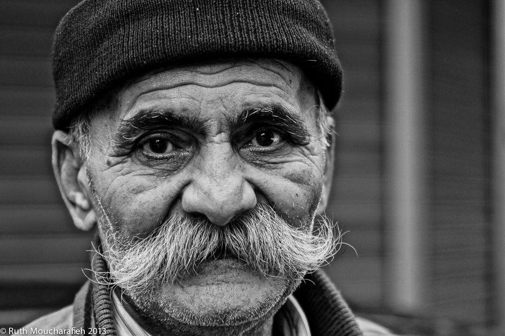 Photo in Portrait #beirut #lebanon #man #moustache #street #candid #portrait #blackandwhite