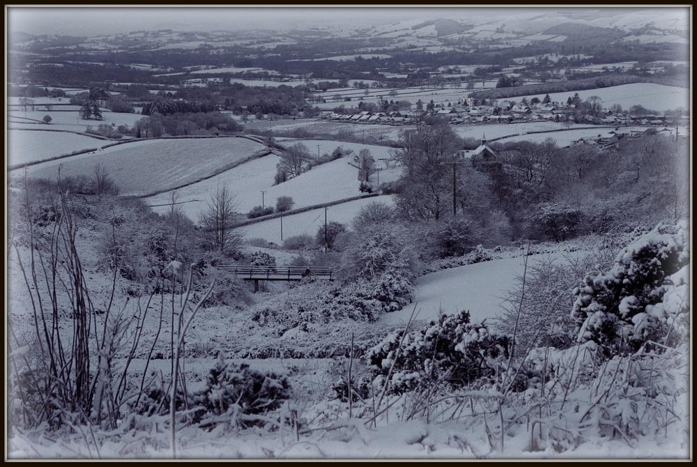 Photo in Landscape #snow #llandrindod #winter