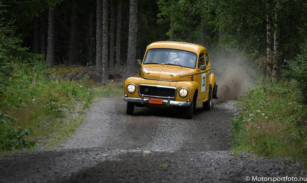 Photo in Sports #volvo #bäckström #pv544 #ludvika #rally #historic