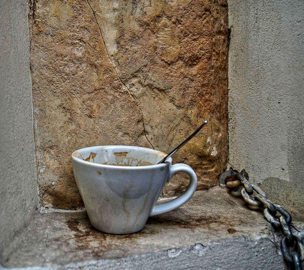 Photo in Still Life #coffee #cup #prague