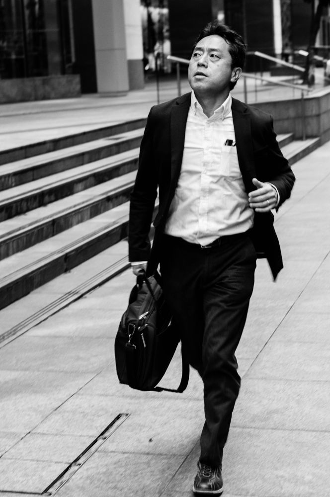 Photo in Street Photography #street candid #black&white #streets