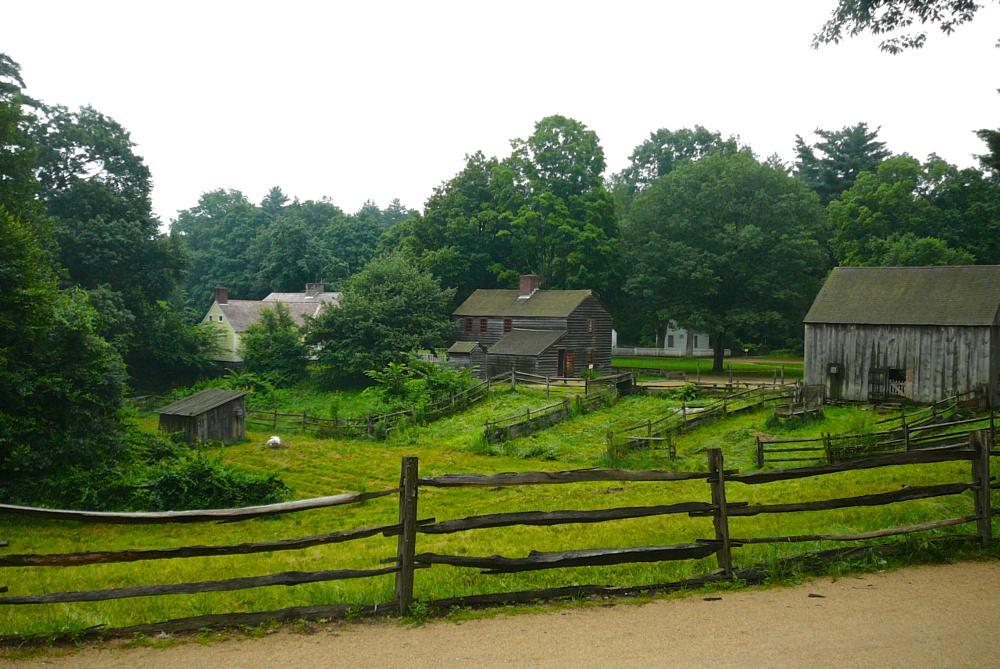 Photo in Travel #old sturbridge village #farm #green meadows